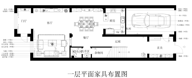 军区别墅新中式318㎡装修效果图装修设计理念
