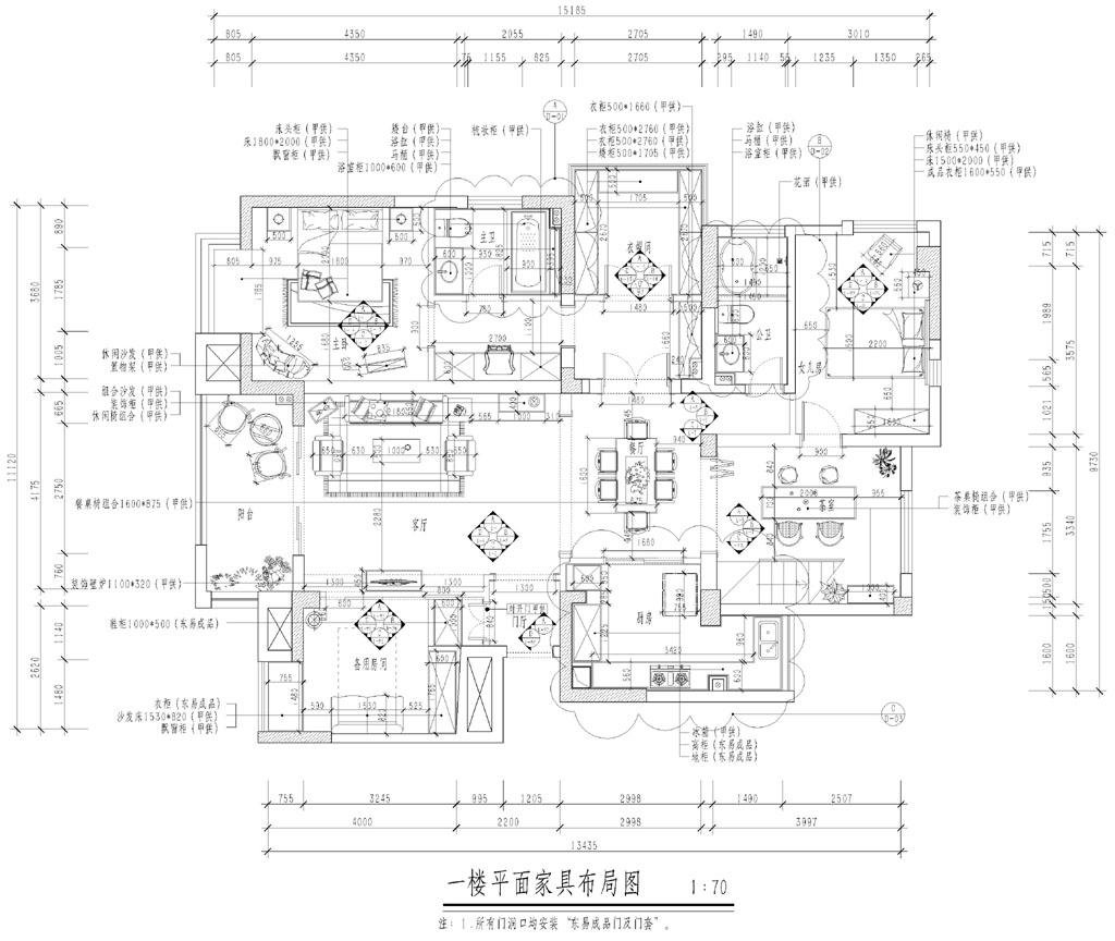大华南湖世家美式风格复式装修效果图装修设计理念