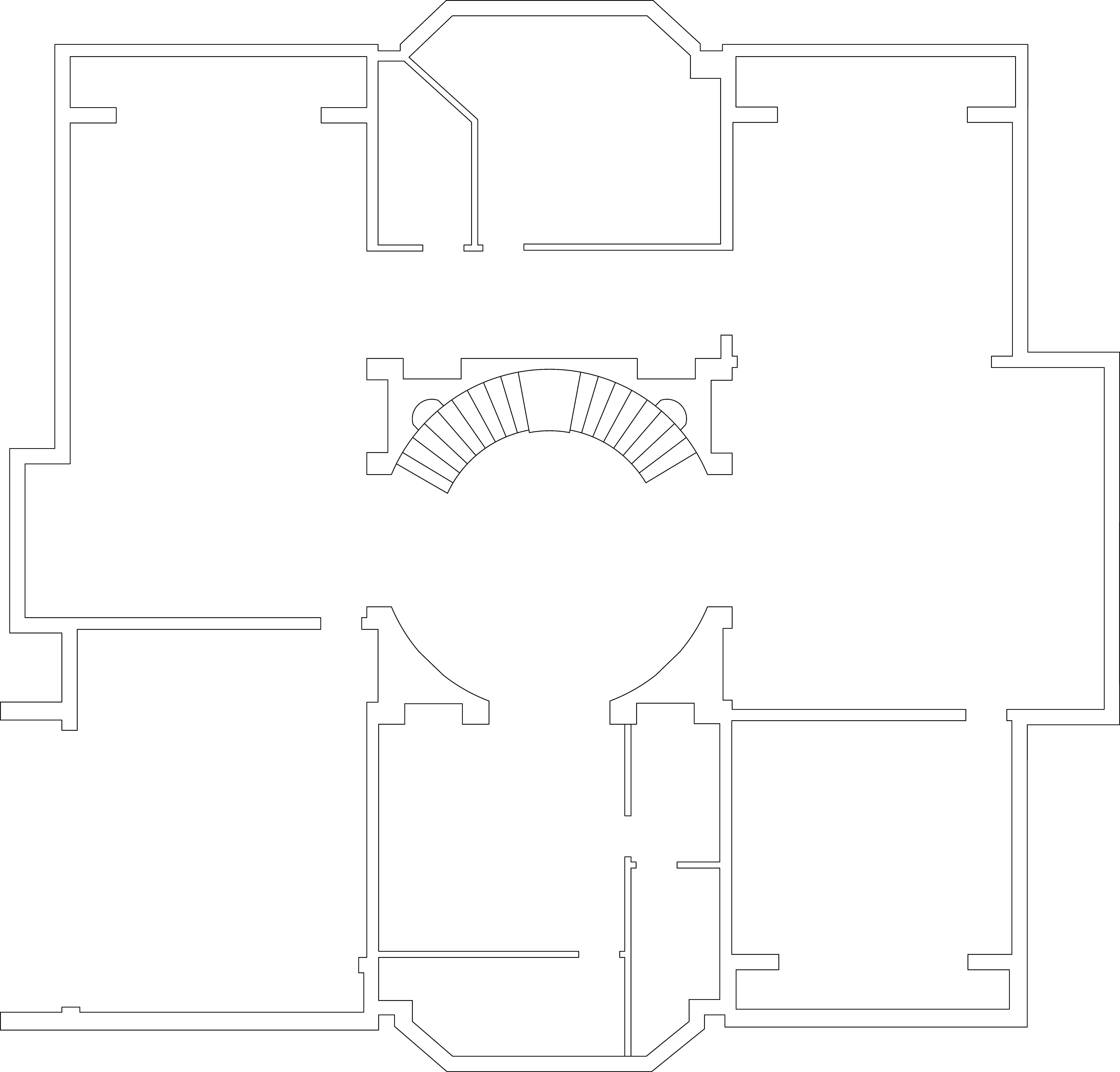 富力津门湖-古典风格-350平米装修设计理念