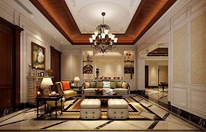 海棠湾—673平—欧式古典风格效果别墅户型解析