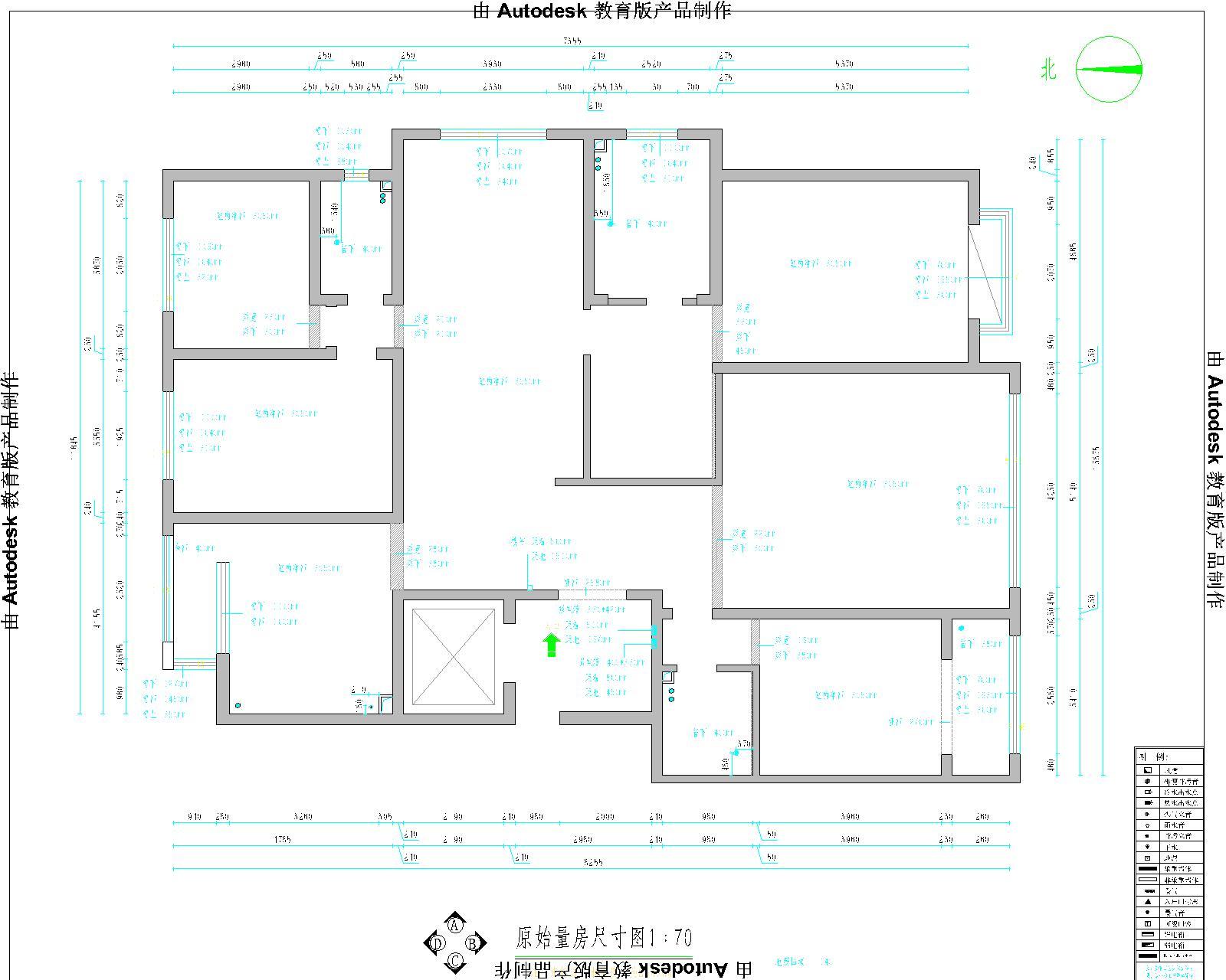 国信嘉园245平米新中式装修效果图装修设计理念