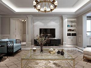 三室两厅两卫装修效果图,用美式风格打造雅致家居