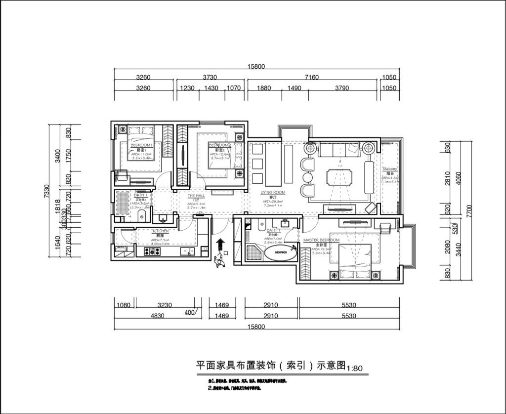 西山壹号院-法式装修风格-380平米装修设计理念