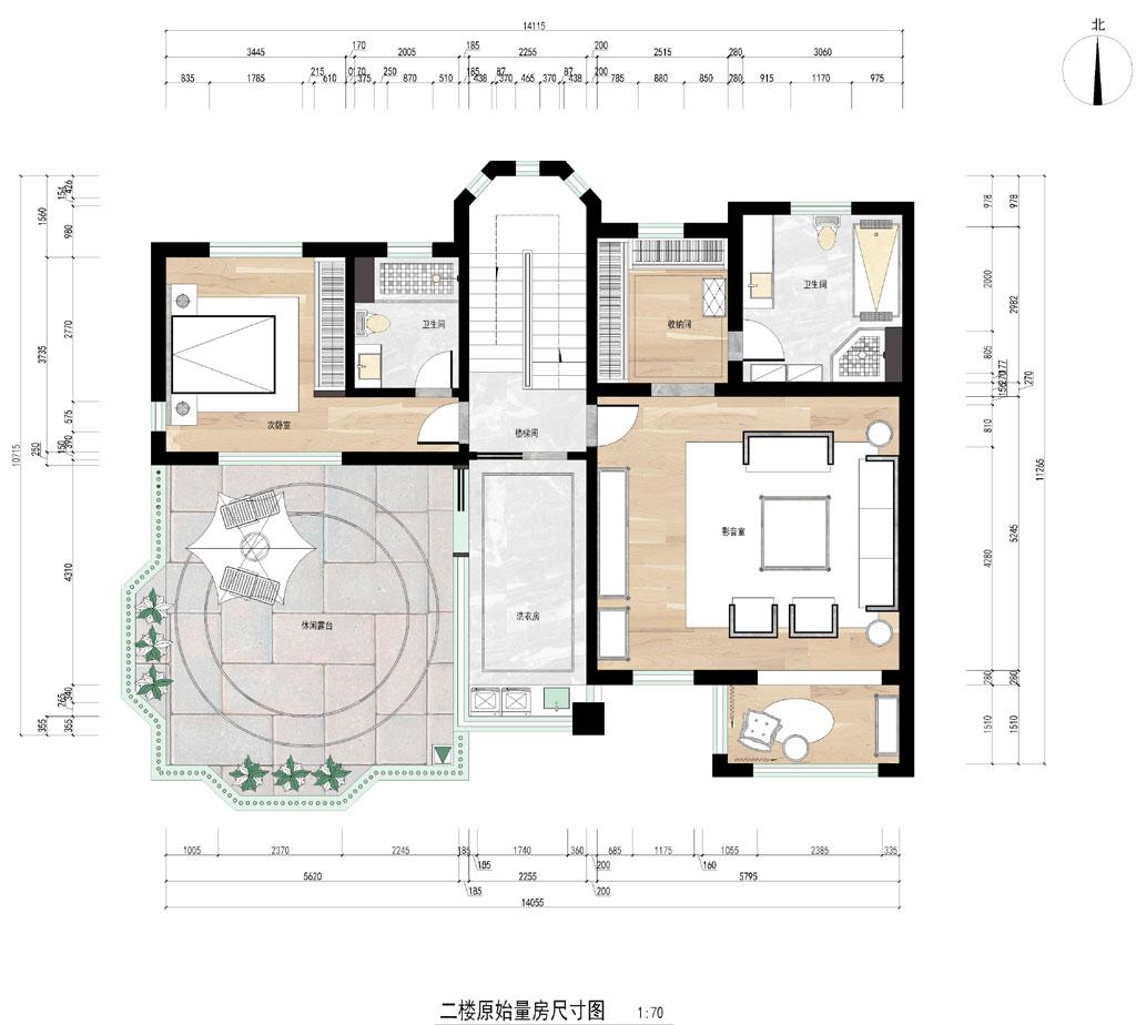 汉南碧桂园新古典风格别墅装修效果图装修设计理念