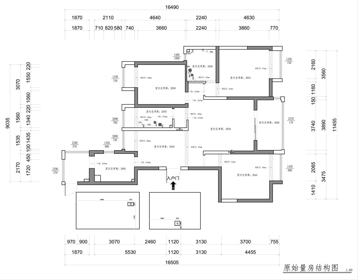 苏宁睿城142㎡-后现代风格装修设计理念