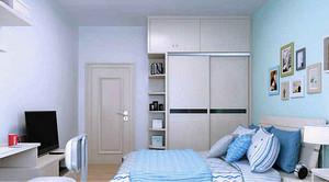 卧室床和衣柜摆放