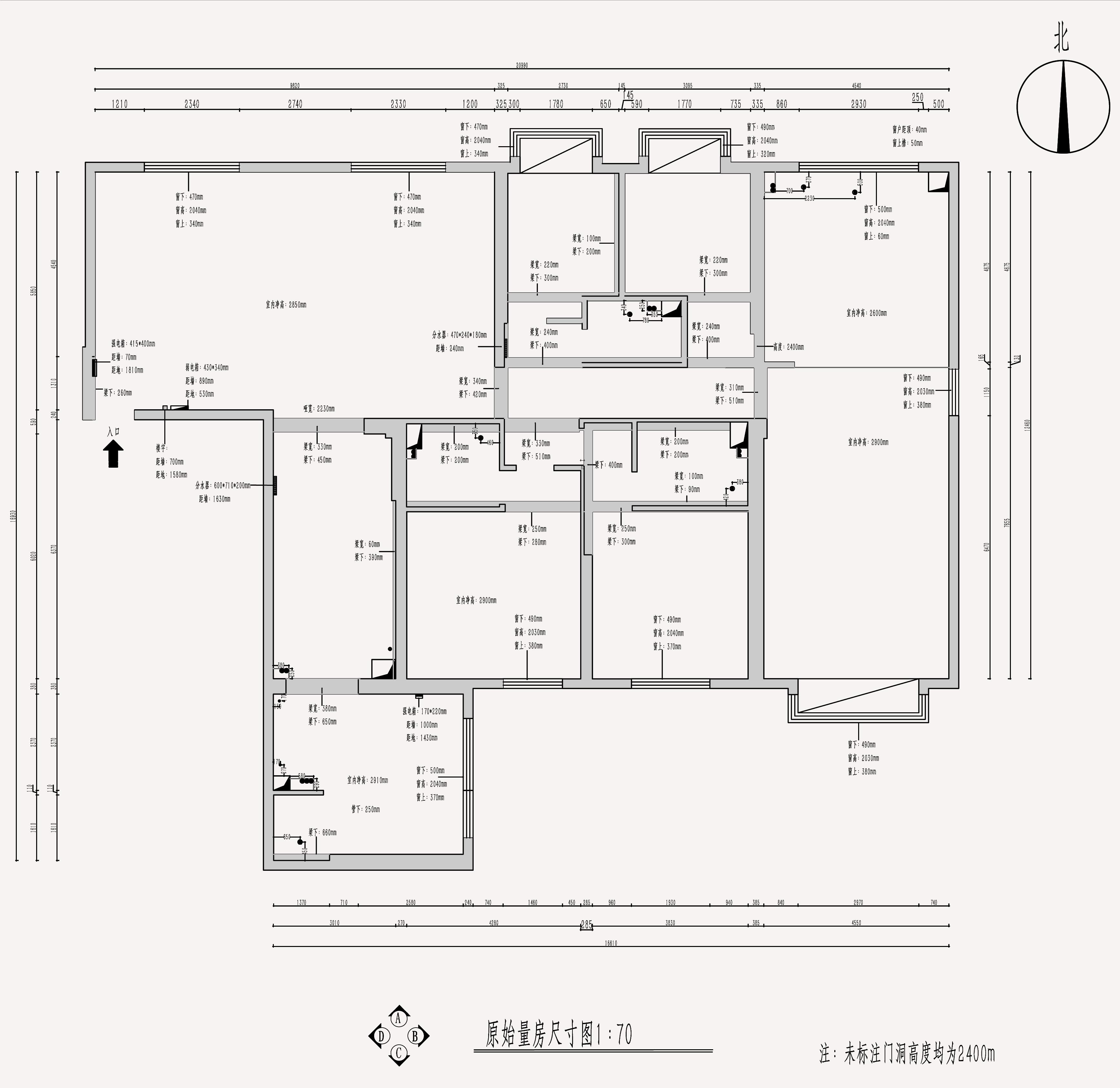 茂业天地330平米法式风格装修效果图装修设计理念