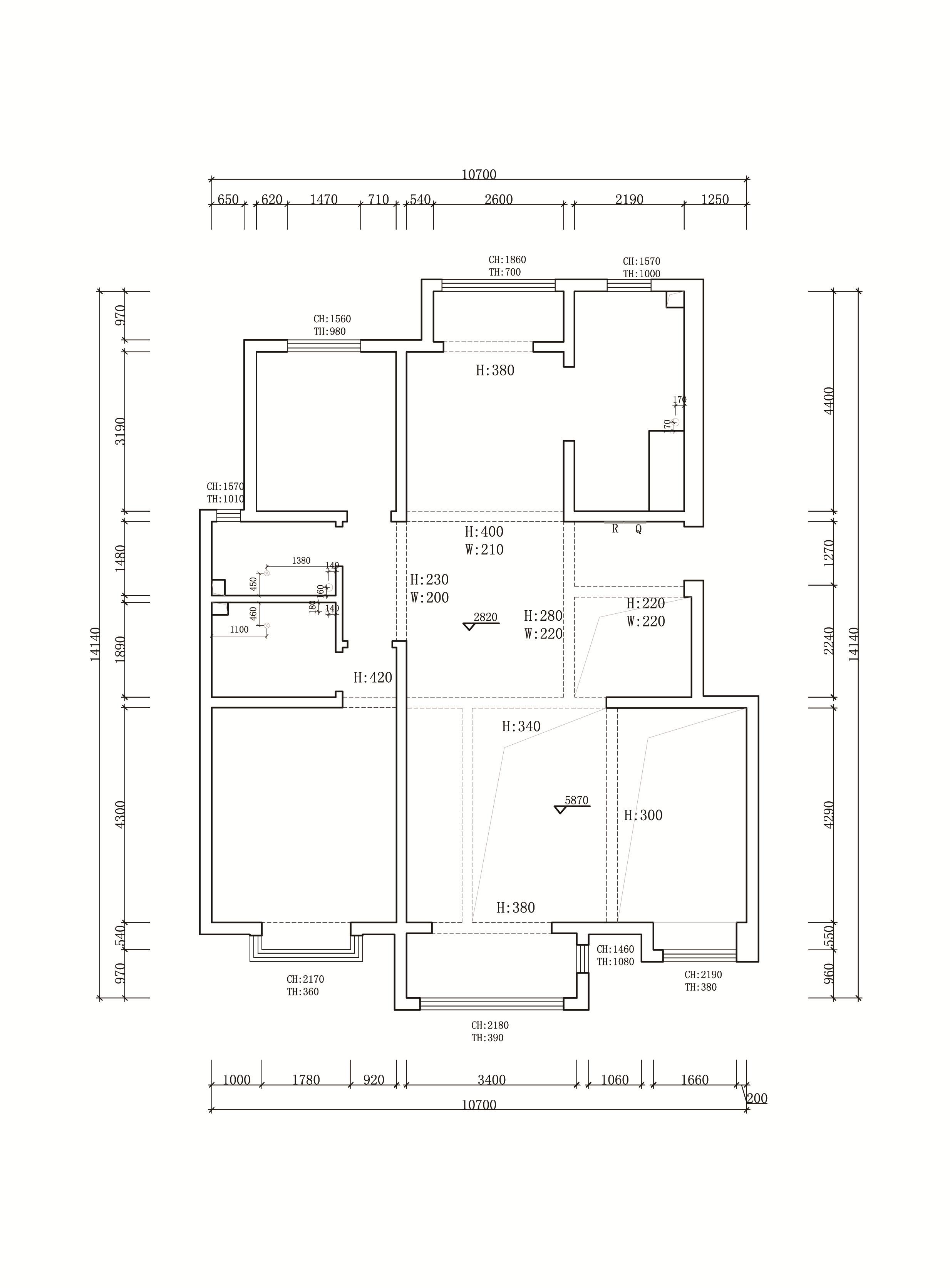 古镇新城御园-欧式风格-260平米装修设计理念