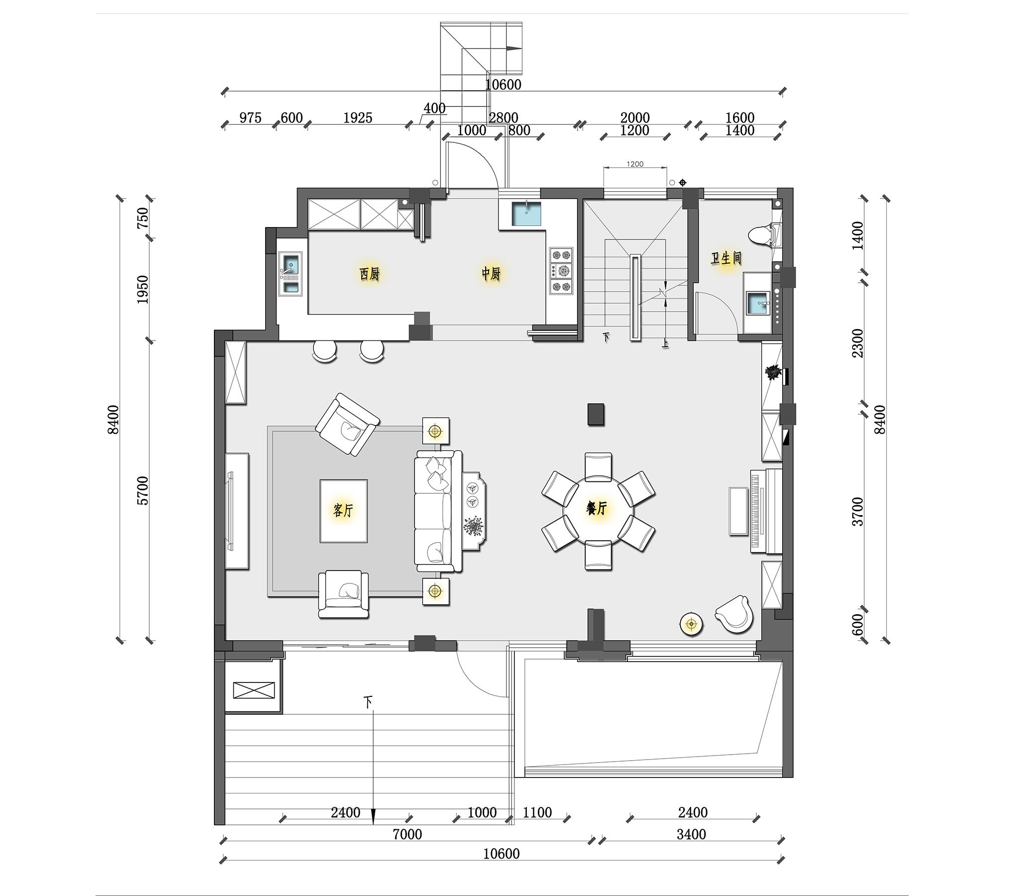 苏州狮山原著 欧式装修风格 285m²装修设计理念