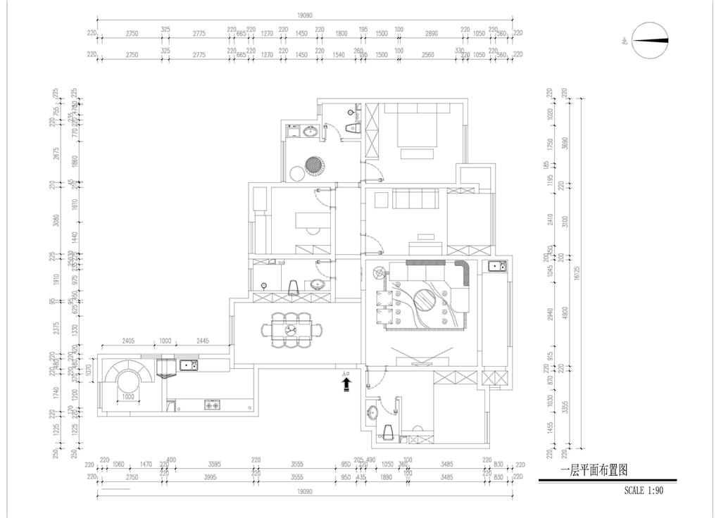 铂悦山-简欧风格-190平米装修设计理念