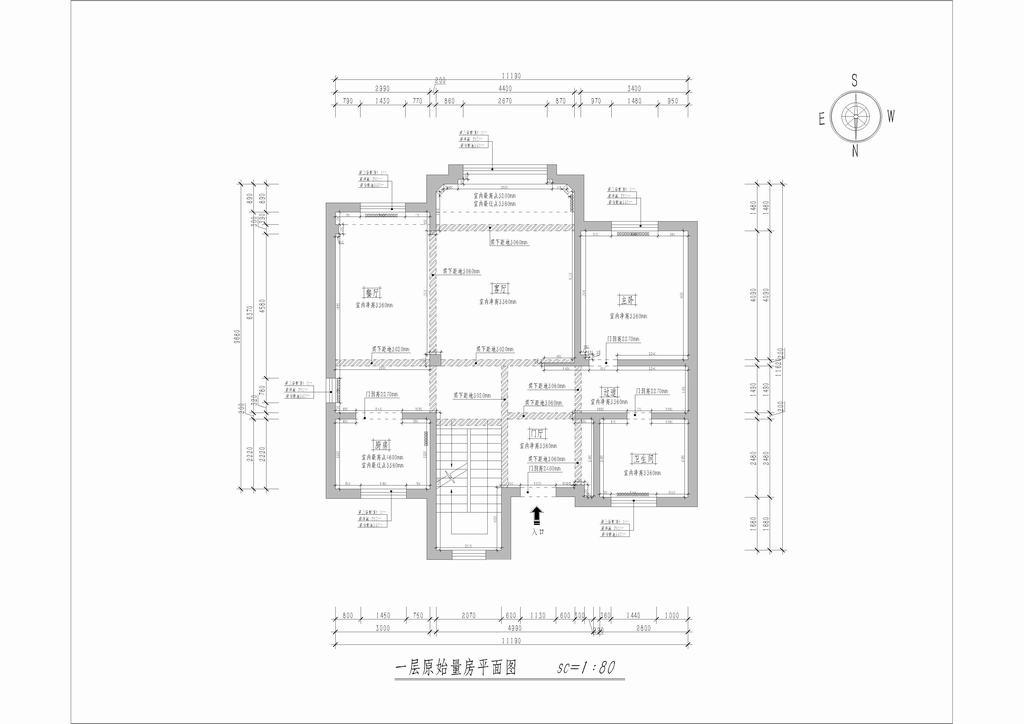 首创澜茵山-欧式-350平米装修设计理念