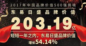 【东易之声】独家揭秘:东易日盛品牌价值203.19亿的由来