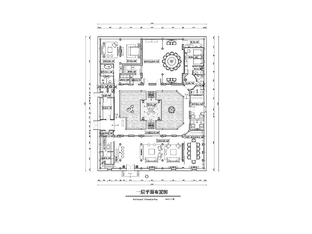 韵庭-镇江-新中式-700㎡装修设计理念