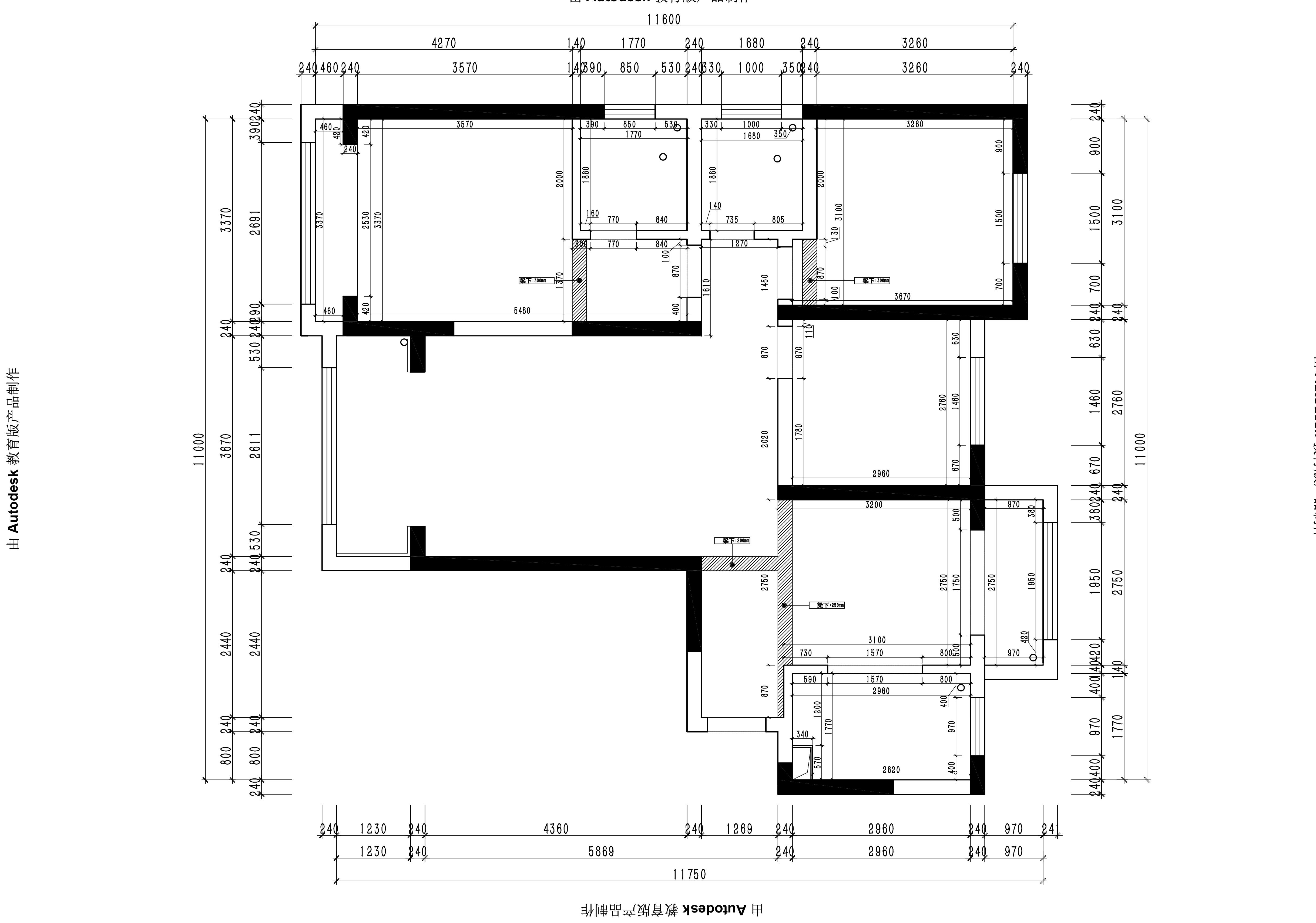迎宾路3号现代简约风格133㎡平层装修设计理念