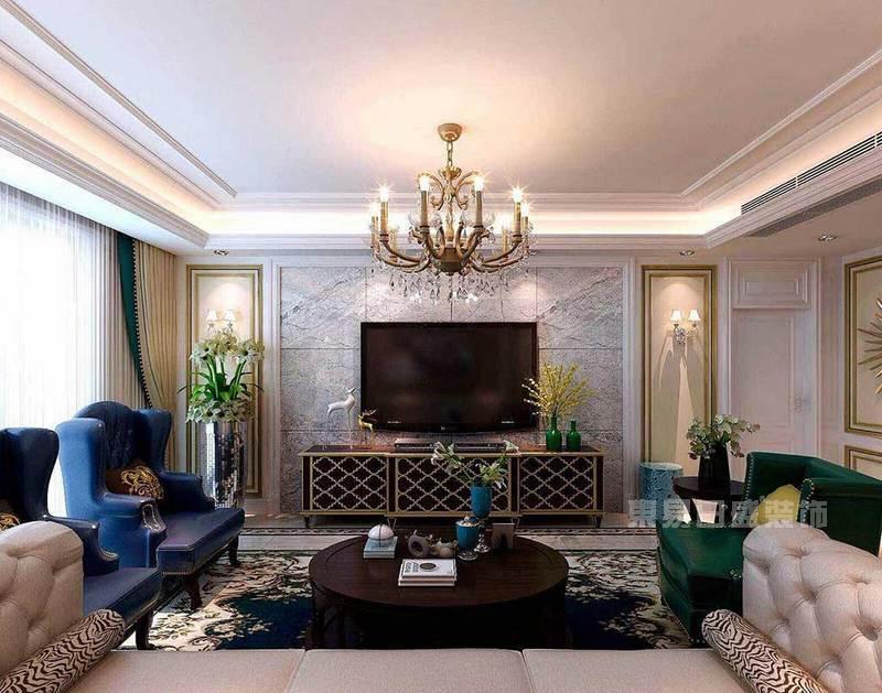 装修简欧风格客厅灯怎样搭配才好看?看完案例图心里有