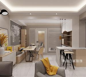 上海现代装修客厅主灯灯带装修搭配注意事项