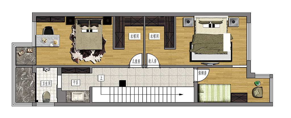 独墅岛240平现代简约装修设计理念