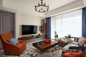不同装修风格的客厅壁纸装饰,几招搞定颜色搭配
