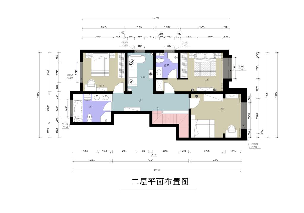 观湖国际-162平米-新中式风格装修设计理念