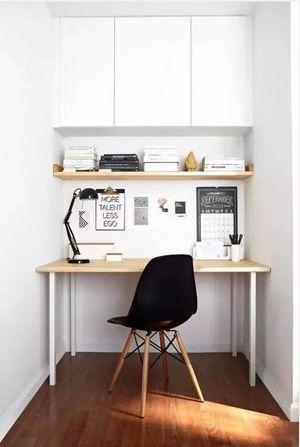 1㎡打造出实用小书房