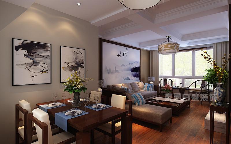 新中式室内设计图片效果图大全