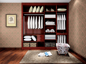 入墙式衣柜怎么做?
