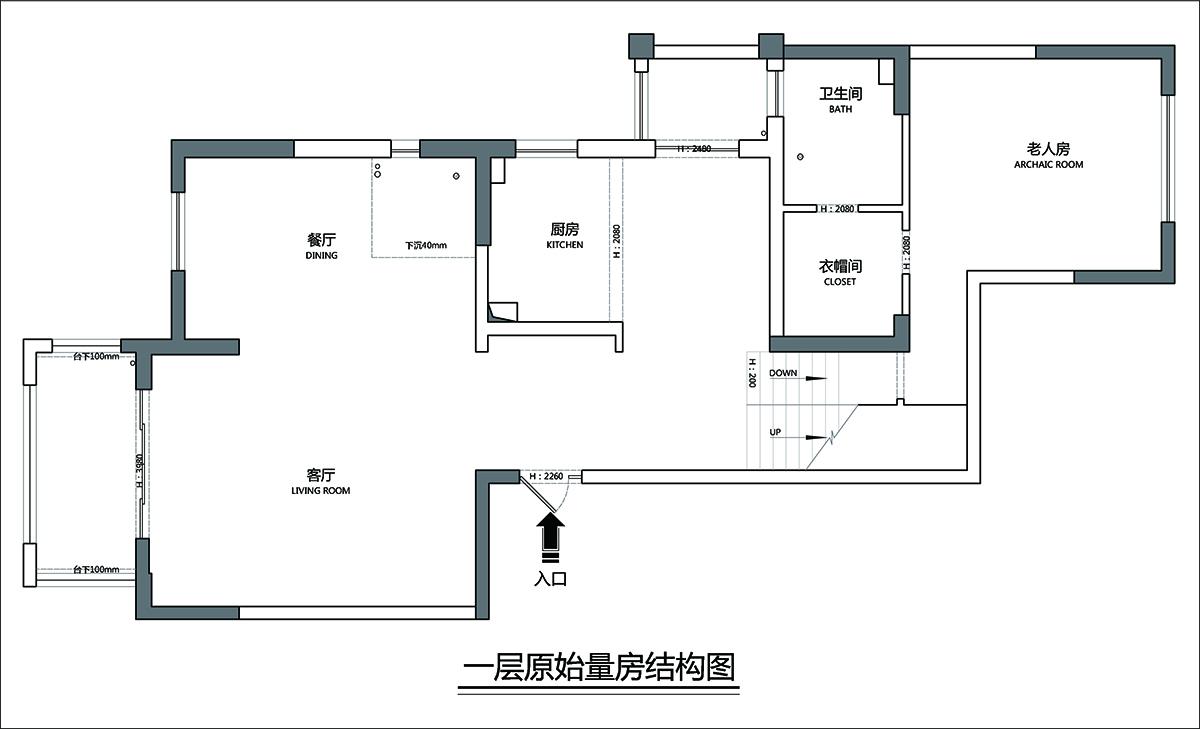 中海凤凰熙岸-现代法式装修设计理念