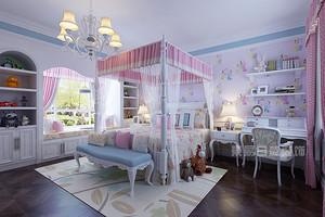 豪华公主房卧室图片,这样装真是美翻了