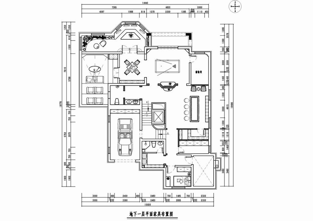 蓝岸丽舍别墅-现代前卫装修风格-550平米装修设计理念