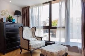 阳光房+露台,175平美式公寓装修成别墅的既视感!