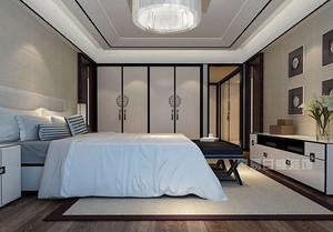 现代中式卧室装修效果图赏析,打造出梦中小王国
