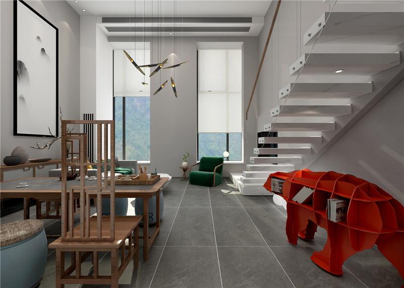 【客厅】整体的布局和风水格调高雅,造型朴素优美,色彩浓厚而成熟.jpg