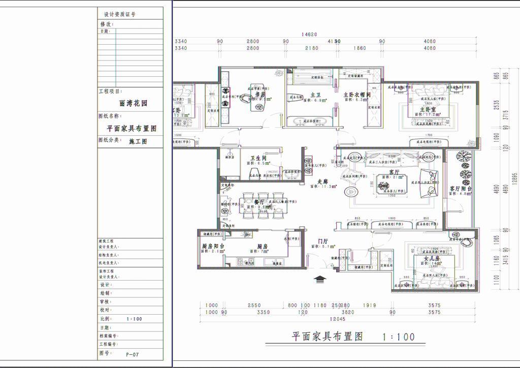 首开常青藤-新古典装修风格-140平米装修设计理念