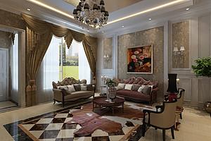大连客厅装修沙发选布艺还是皮制