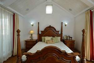 生态木卧室装修效果图,温馨环保两不误