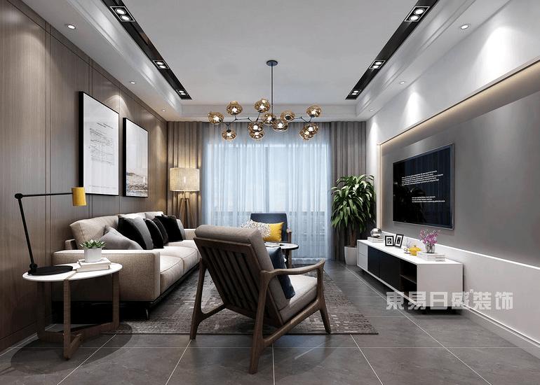 上海客厅装修效果图