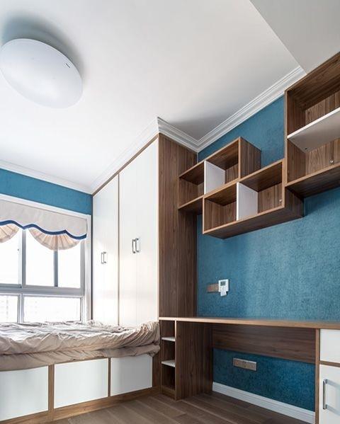 现代儿童房日式儿童房榻榻米装修效果图