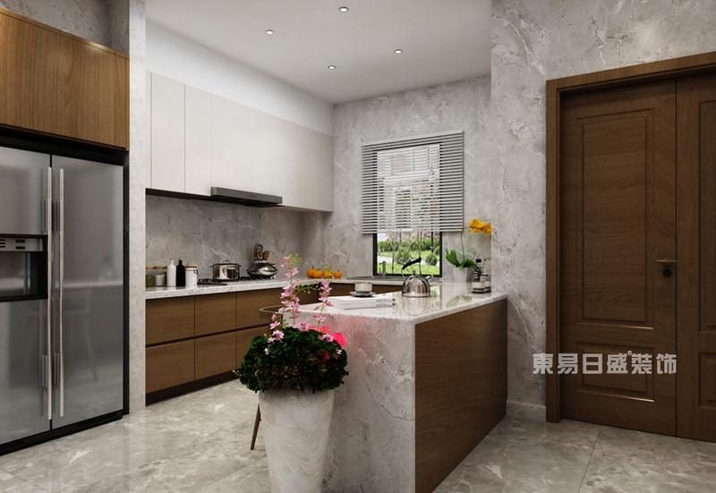 8個現代簡約風格 最新廚房墻磚裝修效果圖一覽