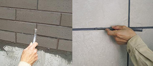 家装装修砖墙勾缝工艺