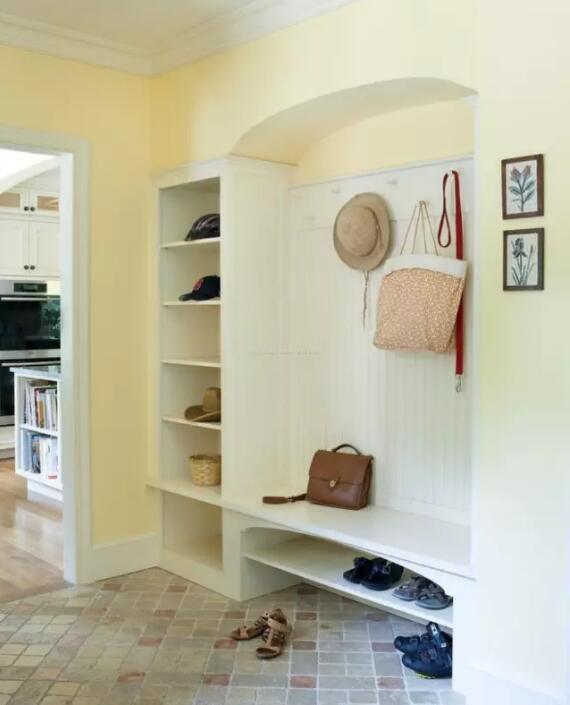 玄关鞋柜装修效果图,玄关鞋柜设计赏析