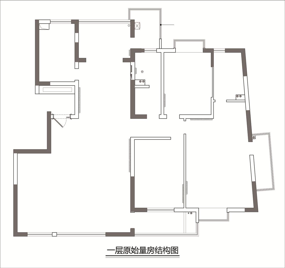 紫鑫中华广场180㎡-现代欧式装修设计理念