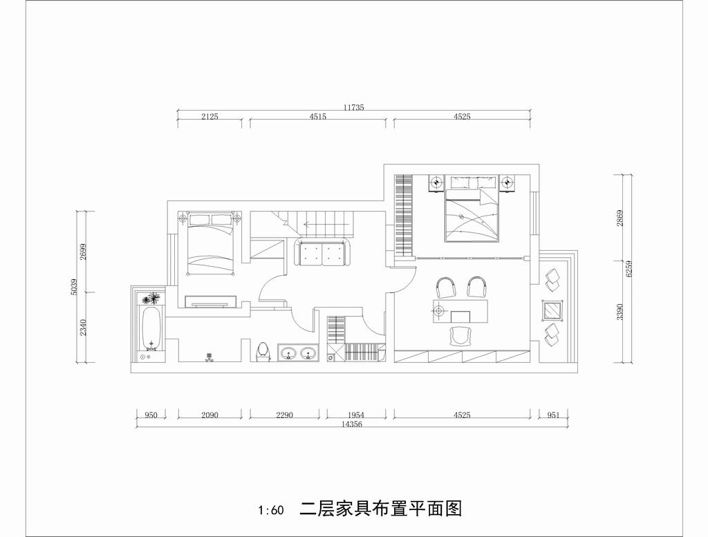 三河华信-美式-200平米装修设计理念