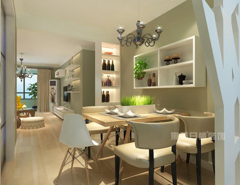 70平米房子餐厅装修效果图_现代风格