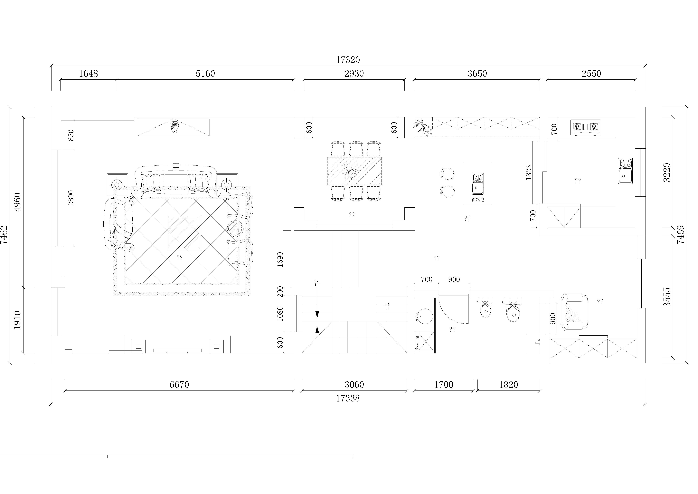 奥园国际城_欧式风格_350平装修设计理念