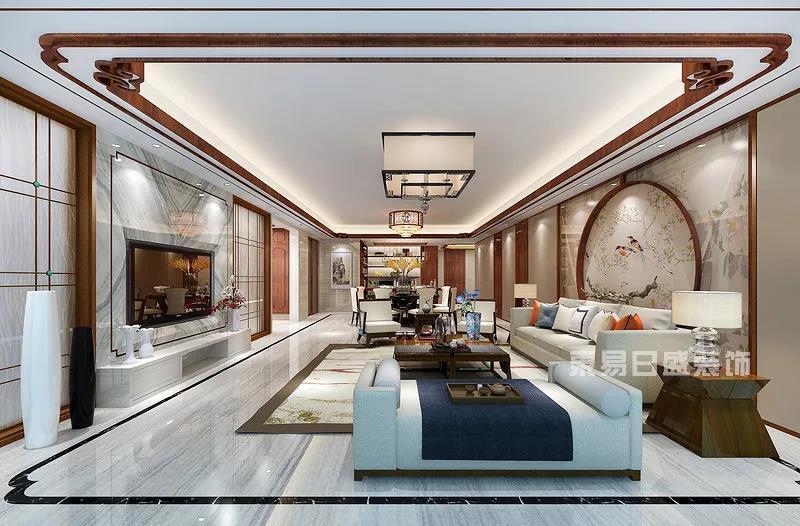 纯水岸房子客厅装修效果图
