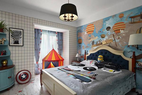 首页 装修设计 > 儿童房装修攻略和实例   儿童床的朝向最好向东或者