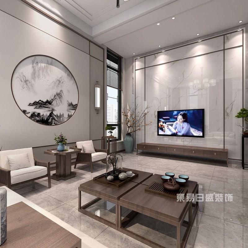 新中式别墅装修效果图8
