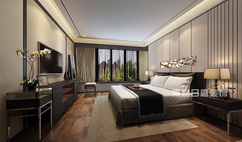 纯水岸房子卧室装修效果图