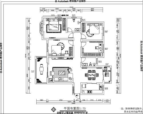 建业森林半岛欧式古典168平四居室装修设计理念
