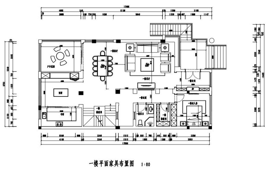 保利心语486平米新中式风格装修效果图装修设计理念